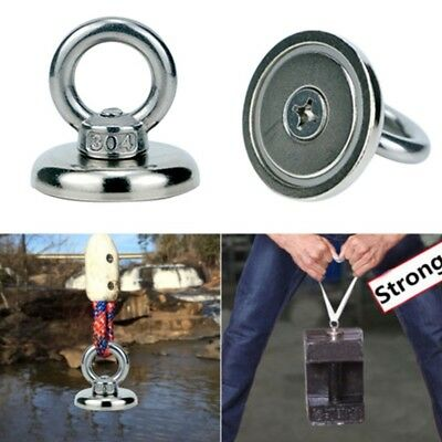 7 Style Recovery Magnet Hook Strong Sea Fishing Diving Treasure Hunting Eyebolt