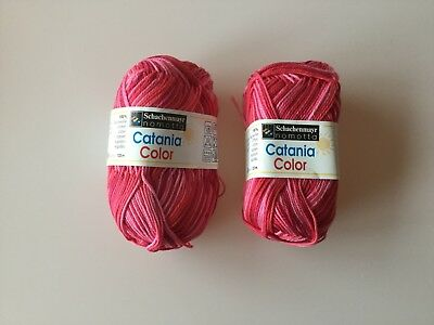 Schachenmayr Catania Color Strickgarn Strickwolle 100 g Fb. 0030 100% Baumwolle