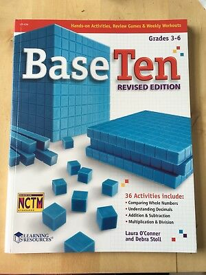 Learning Resources Base Ten Revised Activity Book