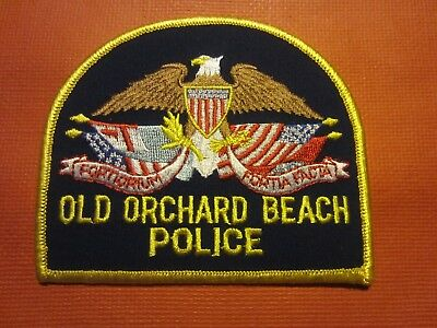 Collectible Maine Police Patch, Old Orchard Beach, New