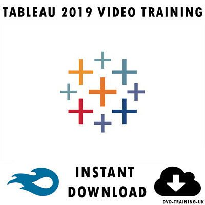 Tableau 2019 - Professional Video Training Tutorial 4+ Hours - Instant Download