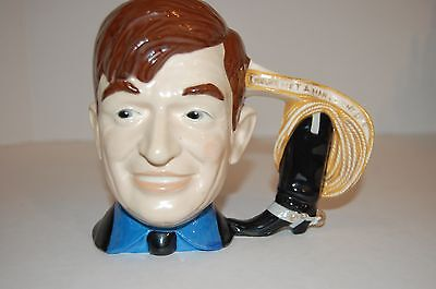 Vintage Will Rogers Tankard by Byron Molds 1976 I never met a man I didn't like