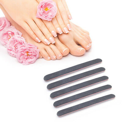 5pcs Nail Art Sanding Files Polish Acrylic Block Buffer Manicure Tip Salon L5T0