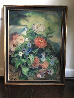Oil Painting on Board by Listed America Artist - Francisco J. Spicuzza - Signed