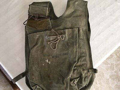 WWII US ARMY Ammo Vest For Mortar Rounds M2 Stamped