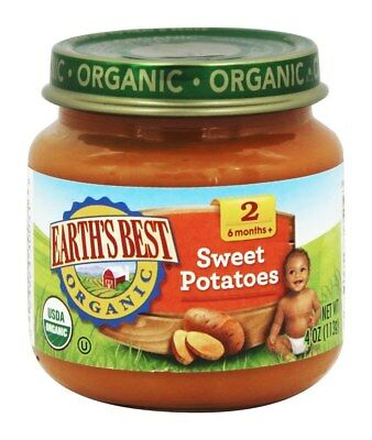 Earth's Best - Organic Baby Food Stage 2 Apple Turkey Cranberry