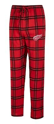 b4791deae99 DETROIT RED WINGS Men s Red Midfield Synthetic Pajama Pants -  31.99 ...