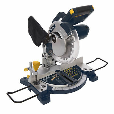 Compound Mitre Saw 210mm 1200w Chop Saws with Laser Cut Line & LED Lights