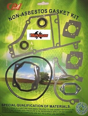 Spare Parts For Stihl Ts400 Gasket Set C/w 2 Crank Seals And All Other Gaskets