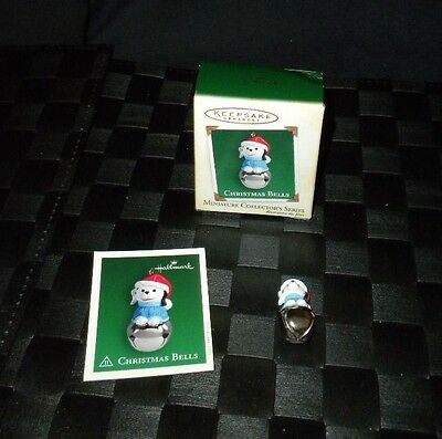 "2005 Hallmark Keepsake Miniature Ornament ""Christmas Bells"" #11 In The Series"