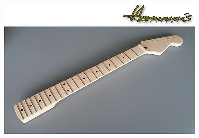 Stratocaster One Piece Canadian Maple Neck 21 Jumbo-Frets unlackiert, unfinished