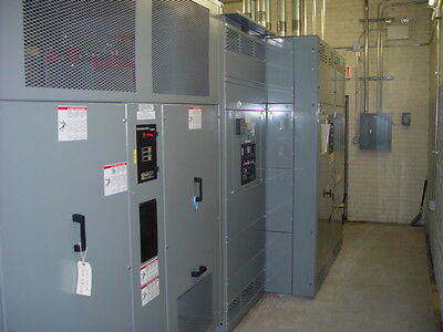 ASCO Automatic Transfer Switch 3000Amp with BYPASS  208/120V 3Phase 962 TESTED
