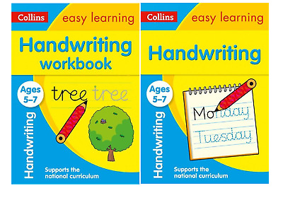 Easy Learning English Ages 5 - 7 Ks1 2 Book Handwriting Bundle