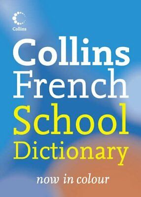 Collins French School Dictionary (Collins School) Paperback Book The Cheap Fast