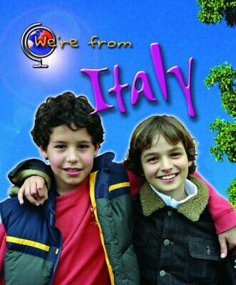 We're from Italy (Young Explorer: We're from) by Vic Parker Hardback Book The