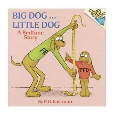 Big Dog Little Dog by Eastman, P. D. Paperback Book The Cheap Fast Free Post