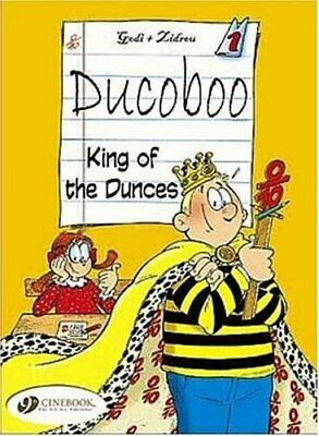 Ducoboo Vol.1: King Of The Dunces by Zidrou Paperback Book The Cheap Fast Free