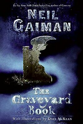 The Graveyard Book by Gaiman, Neil Book The Cheap Fast Free Post