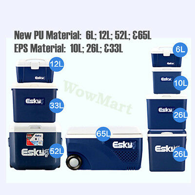 ESKY Insulation PU / EPS Cooler / Warmer Food Drink Container Box Various Sizes