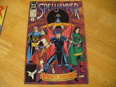 Spelljammer #1 (9.4 Nm) Dc-9/90-Extreme High Grade-See Photos- Beautiful Comic!