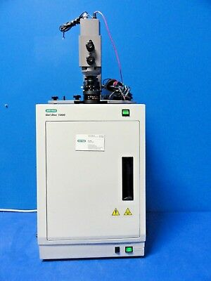 Bio-Rad Gel Doc 1000 Darkroom Hood / Mini-Transilluminator W/ Camera ~15974