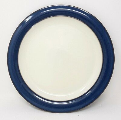 "Denby Boston - Blue - 10.5"" Dinner Plate - First Quality - VGC"