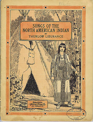 Songs of the North American Indian 1920 music
