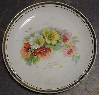 Whitewater Wisconsin merchant advertising plate ca. 1920 Inman