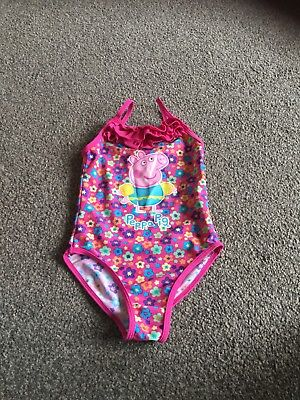 b0a1d08925 GIRLS PEPPA PIG Swimming Suit Age 5-6 - EUR 3