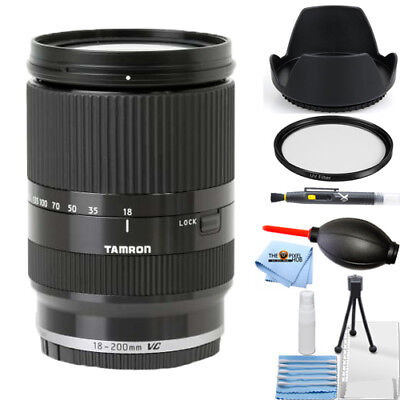 Tamron 18-200mm Di III VC Lens for Sony E Mount Cameras (Black) STARTER BUNDLE