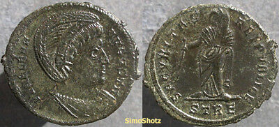 Ancient Roman Coin - St. Helena - Mother of Constantine the Great