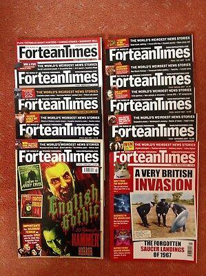 Fortean times magazines (#219-228)