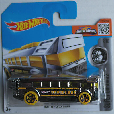Hot Wheels Schulbus School Bus Hot Wheels High chrom Neu/OVP Mattel HW Omnibus