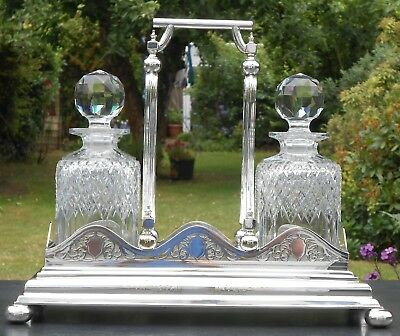 Silver Plated Decanter Stand - Walker & Hall Antique