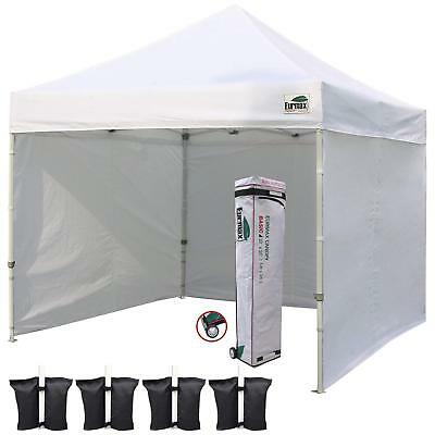 Canopy Tent Commercial Instant Tent with 4 Removable ZiEurmax 10'x10' Ez Pop-up