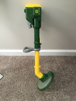 John Deere Weed Whacker Kid  Child Pretend Play Toy Eater Trimmer Licensed