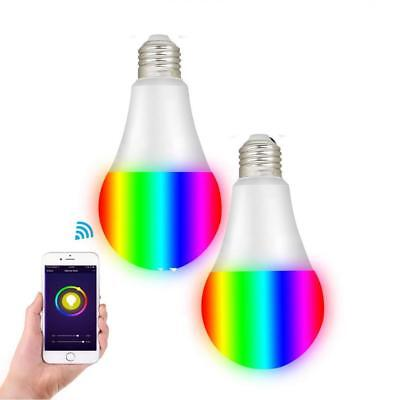 Smart RGBW Tunable White & Color LED Bulbs(10W), Cxy WiFi APP-Smartphone...