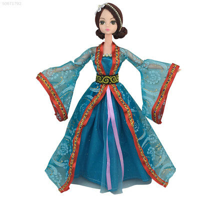 789A Traditional Traditional Doll Dress Handmake Doll Dress Ancient Costume