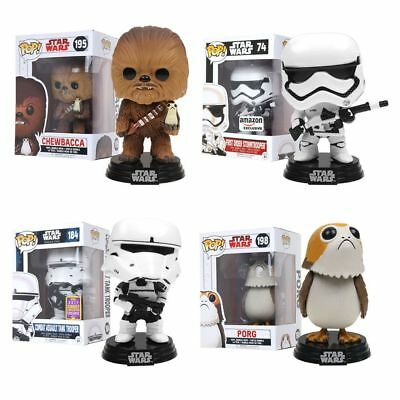 Funko POP - Star Wars Bobble-Head Action Figures Exclusive Collectible Toys Gift