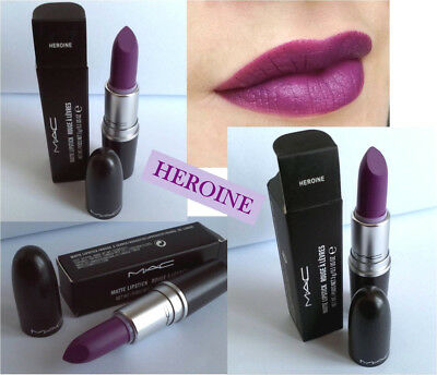 ROSSETTI MAC Matte Lipstick HEROINE Rouges a Levres NUOVO