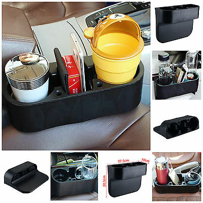 Universal  Black Cup Holder Car Storage Drinking Bottle Can Mug Mount Stand UK