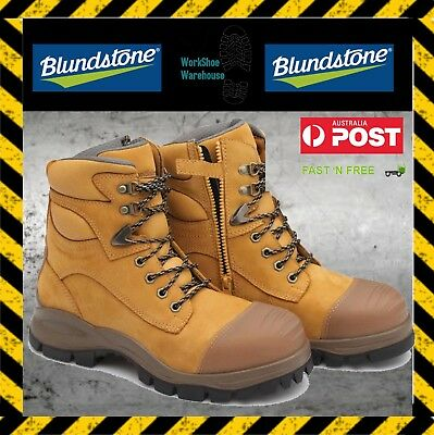 515967635cc BLUNDSTONE 997 WORK & Safety Zip Boot, UNISEX(Steel Toe, Heat, Oil ...