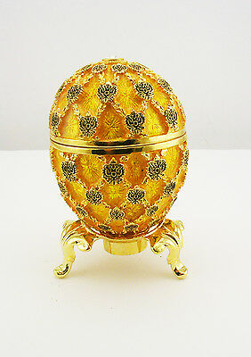 Faberge Imperial Coronation Egg Figurine (comes with stand)