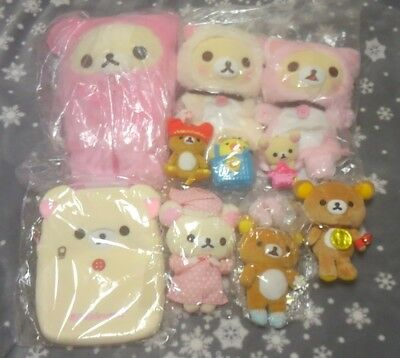 Rilakkuma Bear Mysteries Plush Doll Stuffed Lot san-x ( $ 160 worth value)