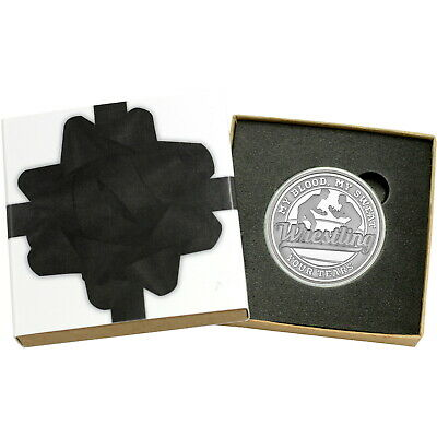 Wrestling My Blood, My Sweat, Your Tears 1oz .999 Silver Medallion