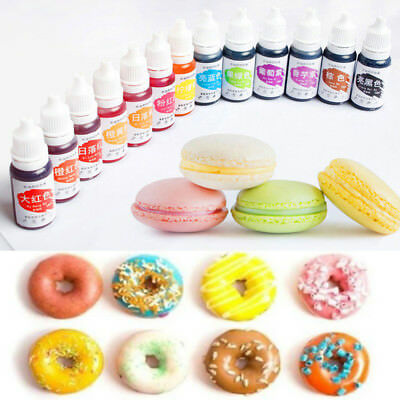 10ML Pigment Baking Ingredients Edible Color Food Coloring Cake Decorating