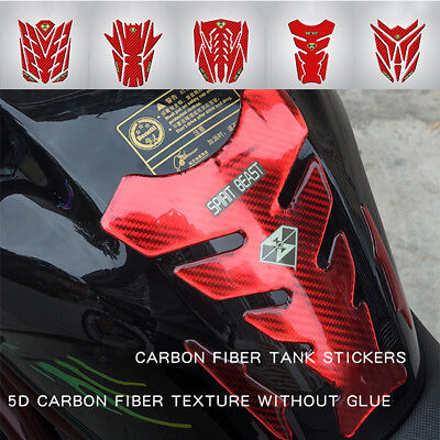 Cool 3D Stereo Motorcycle Gas Fuel Tank Pad Protector Sticker Decal Paster Tags