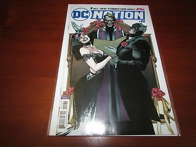 DC Nation #0 Batman Catwoman Wedding VARIANT 1st print Joker FREE SHIPPING!