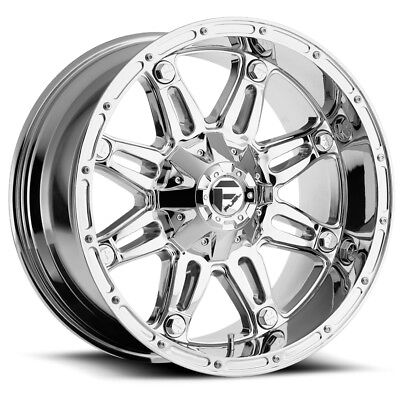 4 New 20 Inch Fuel D232 Hostage Ii 20x12 8x6 5 44mm Anthracite