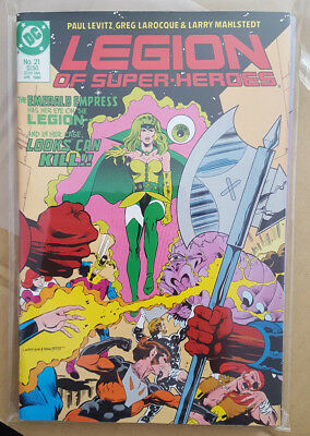 LEGION OF SUPER-HEROES (2ND) # 21, to # 24, (DC COMICS / 1986 / 4 issue run)